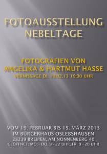 Fotoausstellung Nebeltage